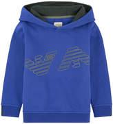 Armani Junior Logo hoodie