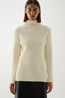 Cos Organic Cotton Ribbed Chenille Jumper