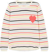 Chinti and Parker Striped Cashmere Sweater - Yellow