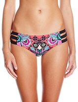 Nanette Lepore Women's Bali Batik Doll Bikini Bottom