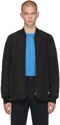 Études Reversible Black Liner Jacket