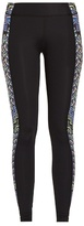 Mara Hoffman Rugs-print panelled performance leggings