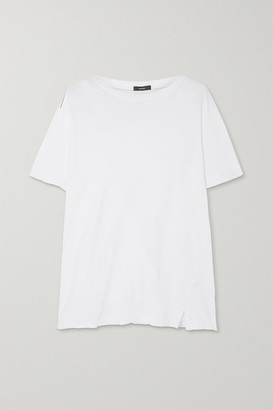 Bassike Stretch Organic Cotton-jersey T-shirt - White