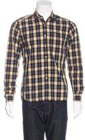 Shipley & Halmos Plaid Button-Up Shirt