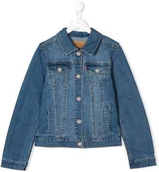 Levi's Kids TEEN multi-pocket denim jacket