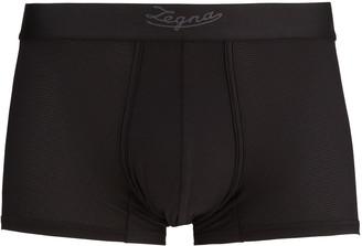 Ermenegildo Zegna Men's Solid Boxer Trunks