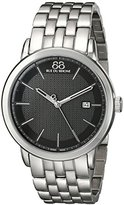 88 Rue du Rhone Men's 87WA130011 Double 8 Origin Analog Display Swiss Quartz Silver Watch