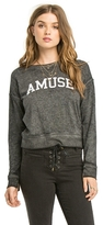 Amuse Society Scholar Fleece Sweatshirt