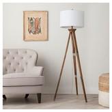 Threshold Oak Wood Tripod Floor Lamp (Includes CFL Bulb