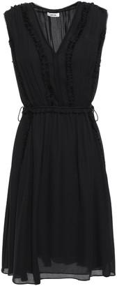 Jason Wu Collection Pleated Silk-georgette Mini Dress
