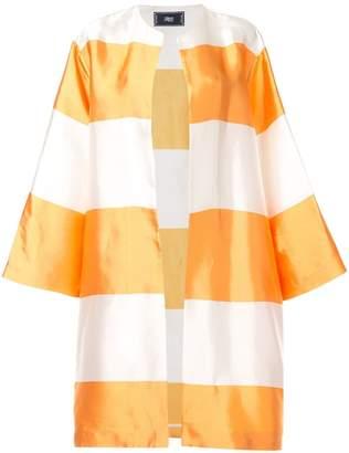 Taller Marmo striped open jacket