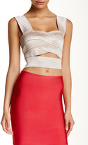 Wow Couture Banded Crop Tank
