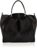 Maiyet Large Peyton calf hair and leather shopper