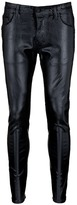 DSQUARED2 'Skater' laminated raw skinny jeans