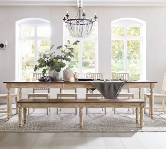 Pottery Barn Ingred Extending Dining Table