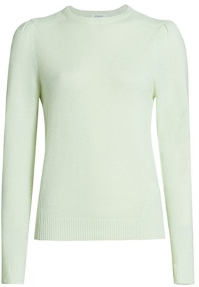 Frame Easy Cashmere & Wool Puff-Sleeve Sweater