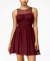 Speechless Juniors' Embellished Fit & Flare Dress, A Macy's Exclusive