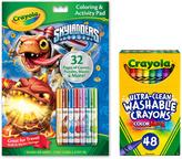 Crayola Skylanders Coloring/Activity Pad & 48-CT. Washable Crayon Set