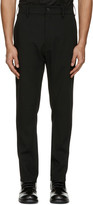 Ann Demeulemeester Black Classic Trousers