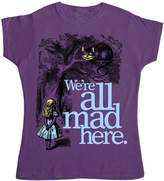 Refugeek Tees Womens T Shirt - We're All Mad Here