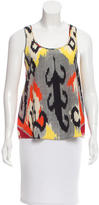 Altuzarra Sleeveless Silk Top