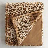 Pier 1 Imports Faux Fur Leopard Throw