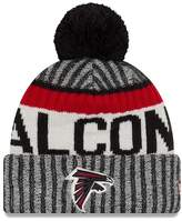 New Era Atlanta Falcons 2017 NFL Sideline On Field Sport Knit Hat - Red