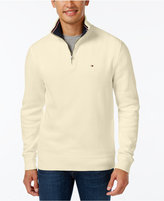 Tommy Hilfiger French Rib Quarter-Zip Sweater