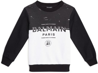 Balmain Kids Slogan Sweatshirt