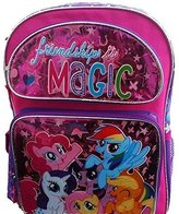 "My Little Pony Backpack Friendship Magic 12"" Girls Bag 136356"