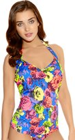Freya Floral Pop 3170 Underwired Halterneck Tankini Top