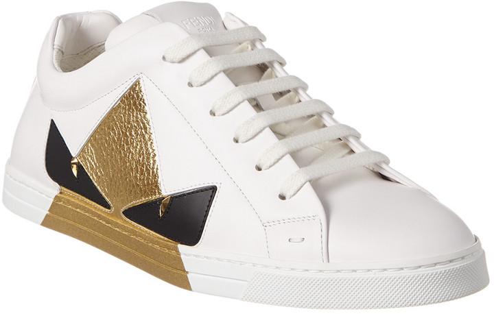01b6f423 Leather Low-Top Sneaker