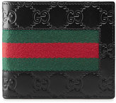 Gucci Signature Web wallet - men - Leather - One Size