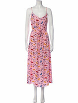 Thumbnail for your product : HVN Silk Long Dress Pink