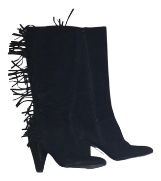 Minelli Black Suede Boots