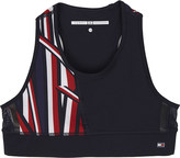Tommy Hilfiger Striped performance crop top 6-16 years