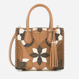MICHAEL Michael Kors Women's Mercer Patchwork Medium Messenger Bag Acorn