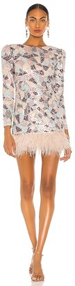 Bronx and Banco Enigma Blanc Mini Dress