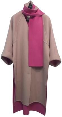 Fendi Beige Wool Coat for Women