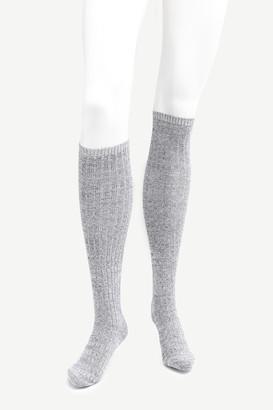 Ardene Rib-Knit Over the Knee Socks