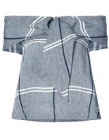 Suno Ring tie blouse