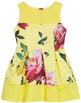 Ted Baker Girls Floral Print Scuba Dress