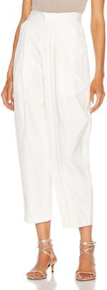 Stella McCartney Adriana Tailored Pant in Cream | FWRD
