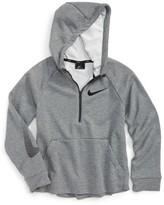 Nike Boy's Gfx Dri-Fit Half Zip Hoodie