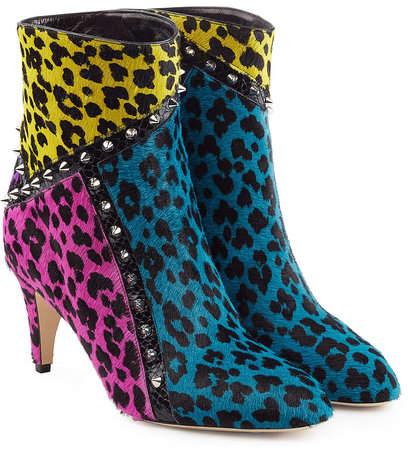 Marc Jacobs Patchwork Boot Heels