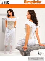 Simplicity Sewing Pattern 2890 Misses' Costumes