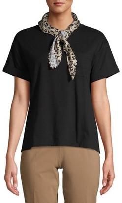 Time and Tru Women's T-Shirt with Bandana