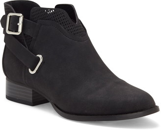 Vince Camuto Buckle Detail Bootie
