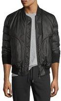 Moncler Bertrand Leather Jacket
