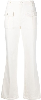 See by Chloe High-Rise Straight-Leg Jeans